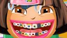 famosos : Juego de dentista de Dora Exploradora - 10