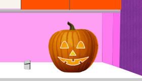 cocina : Tallar una calabaza de Halloween
