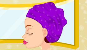 maquillaje : Irene en el balneario