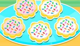 Galletas de azúcar deliciosas