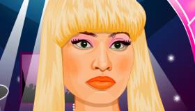 famosos : Juego de vestir de Nicki Minaj