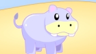 gratis : Juego de chicas de hipopótamo
