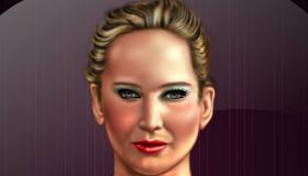 famosos : Maquillaje de Los juegos del hambre