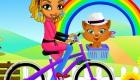 vestir : Juego de bicicleta
