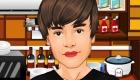 famosos : Cocina con Justin Bieber