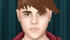 famosos : Peinar a Justin Bieber