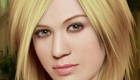 famosos : Juego de maquillar a Kelly Clarkson