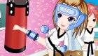 vestir : Juego de vestir de boxeo para chicas