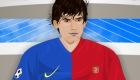 famosos : Juego de Lionel Messi