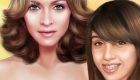 famosos : Juego de maquillar a Madonna