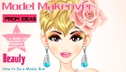 maquillaje : Maquillar a modelo de portada