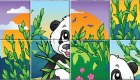 gratis : Puzzle de panda