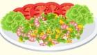 Cocina ensalada de mango