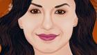 famosos : El maquillaje de Demi Lovato