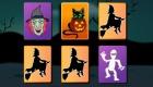 gratis : Juego de parejas de Halloween