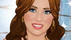 famosos : Juego de maquillar a Miley Cyrus