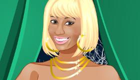 famosos : Vestir a Nicki Minaj