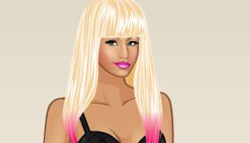 Juego de moda de Nicki Minaj