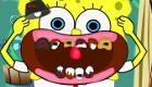 famosos : Bob Esponja va al dentista