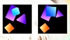 gratis : Juego de las diferencias de figuras geométricas