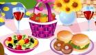 decoración : Juego de decorar de picnic