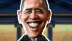 famosos : Juego de presidente Obama