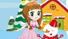 vestir : Princesa de la nieve - 4
