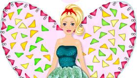 famosos : Tarta de Barbie Hada