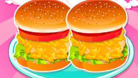 cocina : Hamburguesas para chicas veraniegas