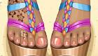 maquillaje : Sandalias para chicas