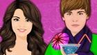 famosos : Cócteles de amor de Selena y Justin