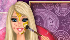 Cambio de look real de Barbie