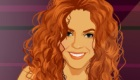 famosos : Vestir y maquillar a Shakira
