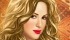 famosos : Juego de maquillaje de Shakira online - 10