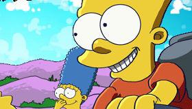 famosos : Juego de karts de los Simpson