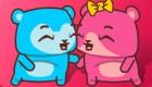 gratis : Juego de besos de ositos - 11