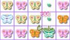 Juego de candy crush con mariposas