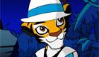 vestir : Juego de vestir a un bebé tigre - 4
