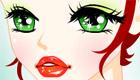 maquillaje : Una chica en el carnaval