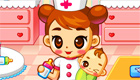 gratis : Enfermera para bebés de Juegosxachicas