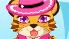 vestir : Un bebé tigre