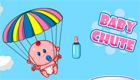 gratis : Una bebé en paracaidas