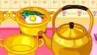 cocina : Una chica hace sopa - 6