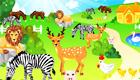 decoración : Un parque con animales para chicas