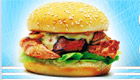 cocina : Haz hamburguesas de pollo