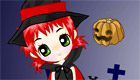 vestir : Bruja de Halloween