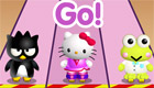 famosos : Una carrera con Hello Kitty