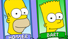 La familia Simpson va de compras