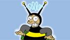famosos : El hombre abeja de los Simpson