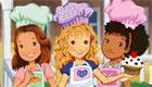 cocina : Las chicas hacen magdalenas
